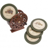 Fishing Reel Coaster Set