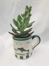 Fishing with Father Blooming Plant