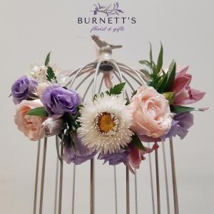 Fit for a queen Wedding Flowers in Kelowna, BC | Burnett's Florist