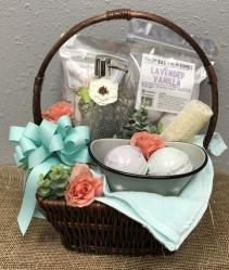 Fizz Bizz Big Basket Bath & Pamper Products