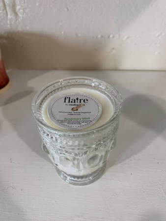 Flaire Candle Rosemary Mint Scent