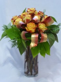 FLAMES OF FIRE- Flowers | Florists | Roses Flowers PG, Florists PG, Anniversary Roses Prince George BC   Anniversary Bouquets Prince George BC