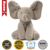 Flappy The Elephant Interactive Stuffed Animal