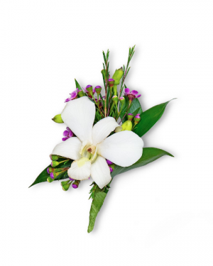 Flawless Boutonniere Corsage/Boutonniere in Nevada, IA | Flower Bed