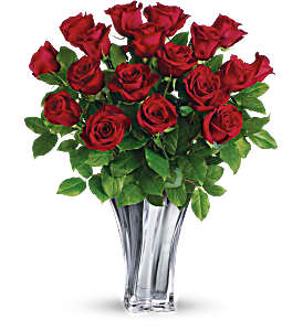 Flawless Romance  18 Red Roses