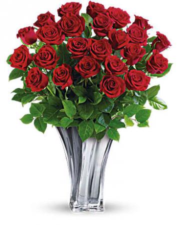 Flawless Romance Bouquet Fresh Arrangement