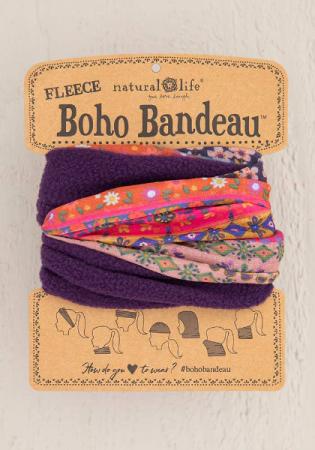 Fleece Boho Bandeau
