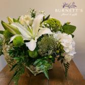 Fleur Blanche Vase Arrangement