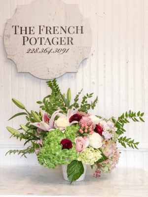 Fleurs du Jour Designer's Choice in Bay Saint Louis, MS | The French Potager