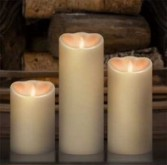 Flickering Flame Candles Battery Operated Candles