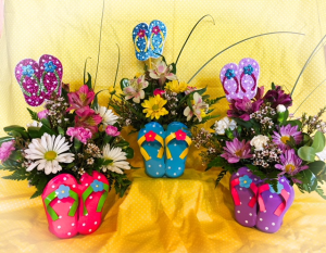 Flip in to Spring  in Fowlerville, MI | ALETA'S FLOWER SHOP