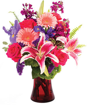 Flirty Fondness Bouquet in Georgetown, KY | Carriage House Gifts & Flowers