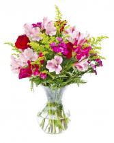 Flirty Romance Vase Arrangement