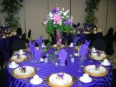 Floatin Petals 1 Reception Centerpiece