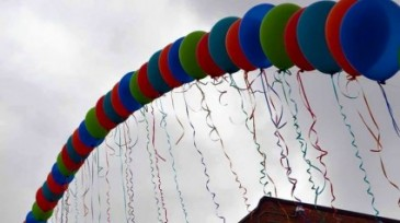Floating Arch Balloons