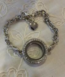 Floating Locket Bracelet Gift