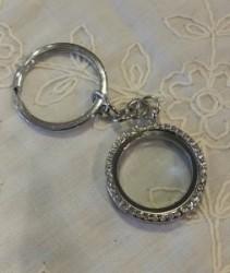 Floating Locket Key-Chain  Gift