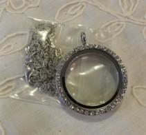 Floating Locket Necklace Gift