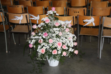 Floor Arrangement Funeral Flowers