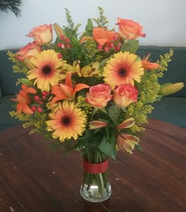Flor-Allure Vase of Flowers in Bluffton, SC | BERKELEY FLOWERS & GIFTS