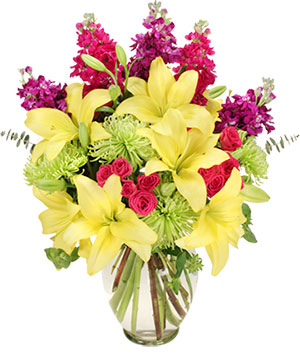 Flor-Elaborate Bouquet in Sun City Center, FL | SUN CITY CENTER FLOWERS AND GIFTS