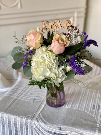 Florafino's Passion Perfect Vase