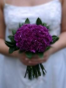 FloraJean Carnation Bouquet Bridal Bouquet or Bridesmaids Bouquet
