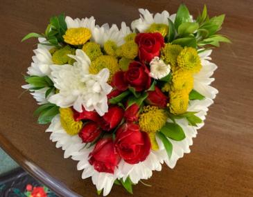 "Floral 6"" Fresh Heart Fresh"