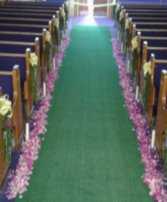 Floral Aisle Arrangement