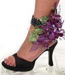Floral Ankle Bracelet Corsage