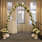 Floral Arch & Urns Wedding