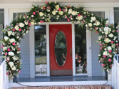 Floral Archway Wedding or Event