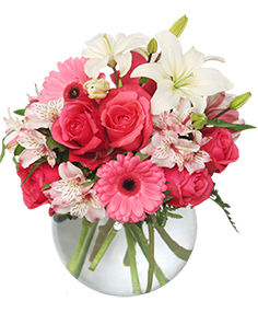 floral attraction vase of flowers - Valentines Flowers Pictures