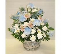 Floral Baby Basket