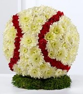 Floral Baseball Arrangement