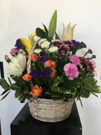 Floral Basket Arrangement