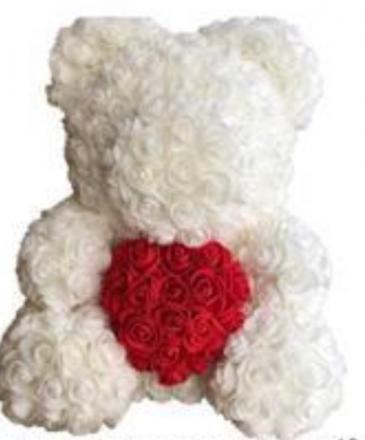 Floral bear Foam Floral bear