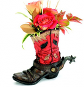Floral Boot Bouquet