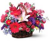 Floral Brillant Basket  Basket Arrangement