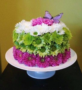 Floral Cake in Delta BC FLOWERS BEAUTIFUL