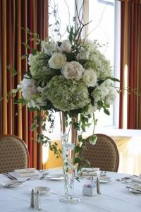 Floral Champagne Wedding