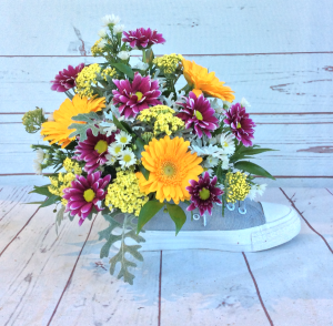 """Floral """"Chucks""""  in Culpeper, VA 