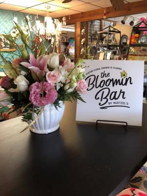 Floral Classes for 6 weeks! Various designs in Mckees Rocks, PA | THE BLOOMIN BAR BY MUETZEL'S FLORIST