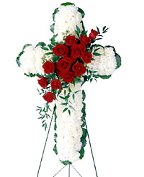 Floral Cross Arrangement
