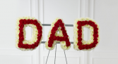 Floral Dad Letters Priced per Letters