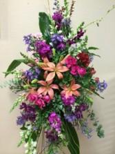 Floral Elegance Standing Spray