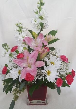 Floral Elegance Vase