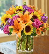 Floral Embrace Arrangement