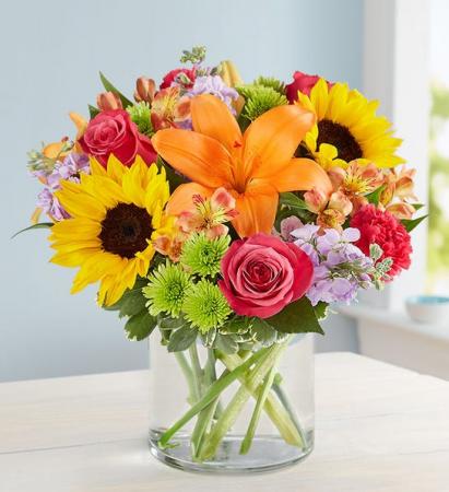 Floral Embrace Medium Spring Arrangement