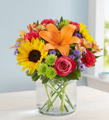 Floral Embrace Small Spring Arrangement